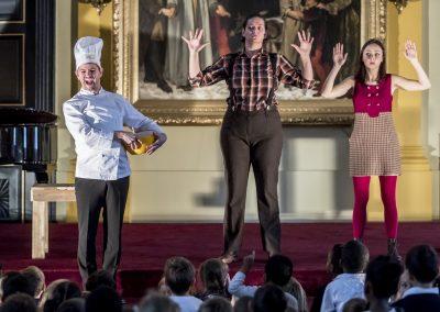 Kinderopera Hans en Grietje, productie van Opera Caramba ism Tineke Van Ingelgem. Foto Tim De Backer