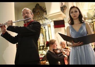 Foto Tim De Backer, orkest Da Capo, dwarsfluit Geert Van Den Broeck