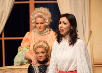 Foto Jos Echelpoels, Operette Der Vogelhändler, Vlaams Muziek Theater, rol: Christel Von Der Post