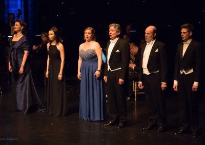 Foto Jos Echelpoels - Nathalie Denyft, An Janssens, Kris Wouters, François Jacobs, Jeroen Lenaerts, Frank Boonen